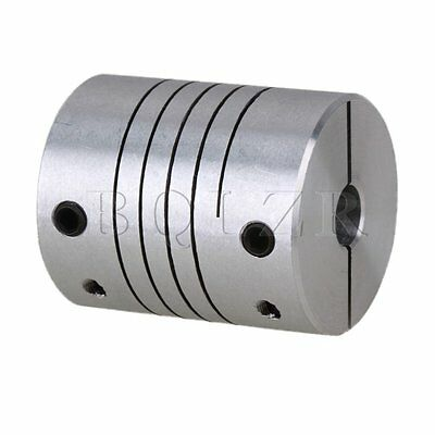 CNC Motor Encoder Shaft Coupler Connector Flexible Coupling D25L30 6.35 x 6.35mm