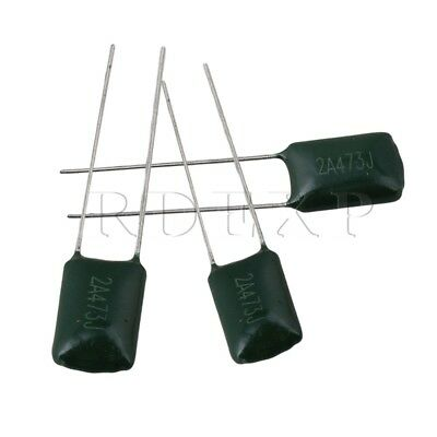 50x 0.047U CAPACITOR FOR HUMBUCKER PICKUPS Electric