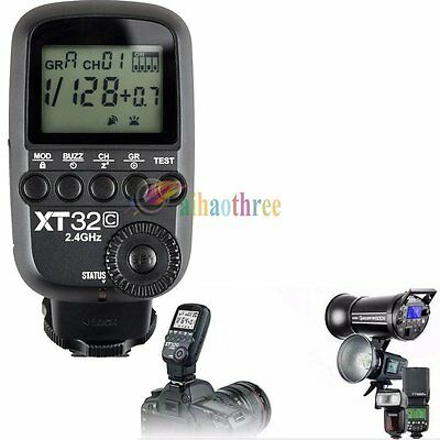 Godox XT32C 2.4G Wireless Flash Trigger X System HSS 1/8000s For Canon Camera