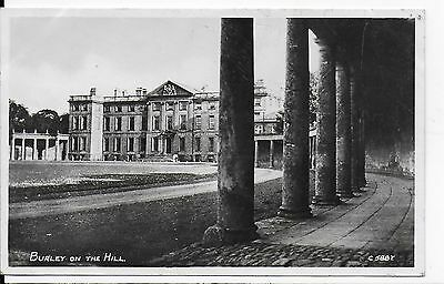 Lovely Vintage Postcard,baroque Statley Home,burley On The Hill,rutland,1949,rp