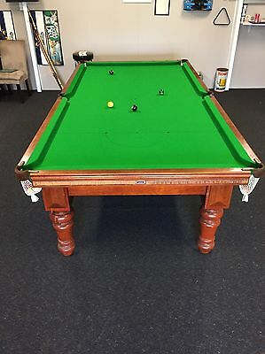 9 x 5 , 3/4 Size Pool / Snooker Table Heiron & Smith Traditional