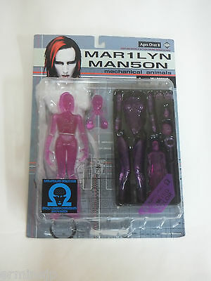 MARILYN MANSON Mechanical animals Figure Limited Color Pink ver.