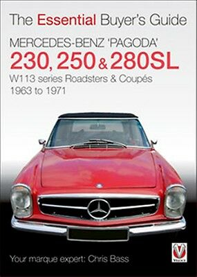 Mercedes Benz Pagoda 230SL 250SL 280SL roadsters coupes book paper 1963 to 1971