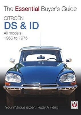 Citroén DS & ID The Essential Buyers Guide 1966 to 1975 book paper