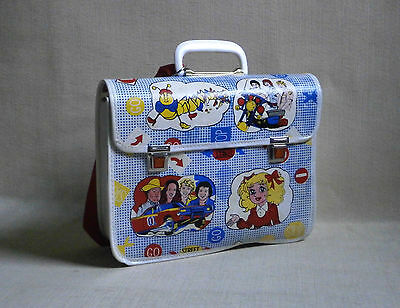 The Dukes of Hazzard Candy Candy SCHOOL BOOK BAG NEW GREECE 80'S plastic Vintage