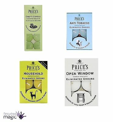 Prices Candles Tealight Tea Light Candle Odour Pack Fresh Air Scented Home Gift