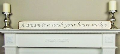 Large Shabby Chic Wall Art Wooden House Sign Plaque Gift Present By Austin Sloan