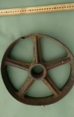 Antique Cast Iron Wheel Small.