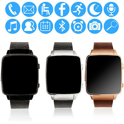 X6S Smart Watch Bluetooth Orologio Intelligent SIM TF Card Slot Per Android iOS