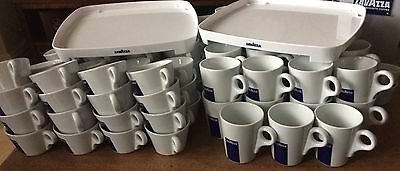 Job Lot Of Lavazza Mugs And Cups Bargain