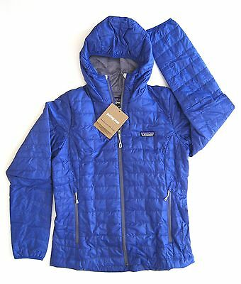 Patagonia Women's Nano Puff® Full Zip Hoody - Harvest Moon Blue - M / Medium