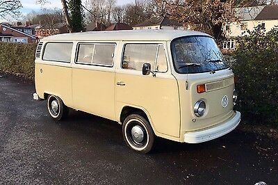 1974 RHD VW / Volkswagen T2 Bay Window Kombi Van
