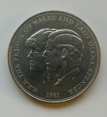 Rare collectors 1981 Charles and Diana Wedding Commemorative Coin