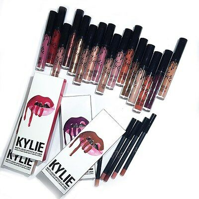 NEW Kylie Jenner Lip Kit Liquid Lipstick Matte & Lip Liner - UK SELLER