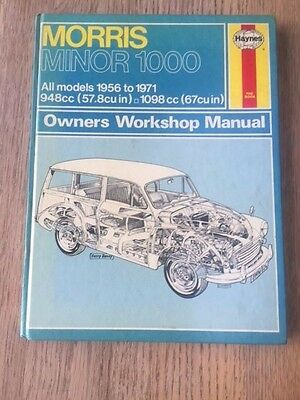 Morris Minor 1000  Haynes Workshop Manual Used But Very Good Free PP