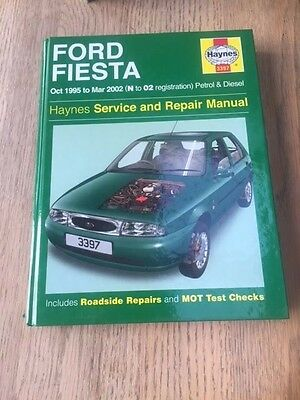 Ford Fiesta 1995 - 2000 Haynes Workshop Manual Very Good Condition Free PP