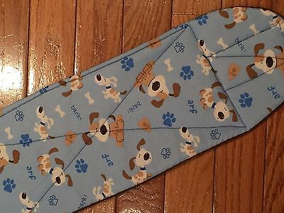 BARK male dog diaper, 4 layers,quilted, size xs-xxxx by angelpuppi