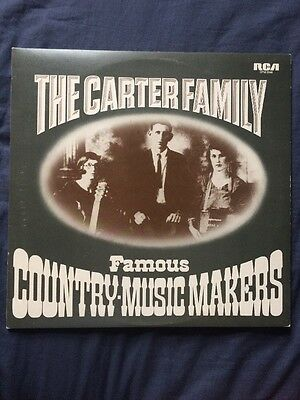The Carter Family - Famous Country Music Makers (1927 - 1941) Double Vinyl