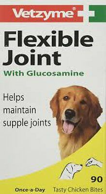 Vetzyme Joint Tablets for Dog, Flexible Joint Capsules or high strength 30, 90's