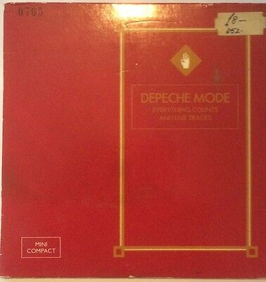 Depeche Mode Everything Counts Live Cd French Import