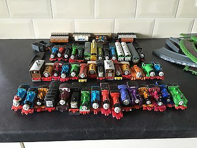 Bundle Of 50+ Die Cast Thomas The Tank Engine & Friends + Track & Extras - ERTL