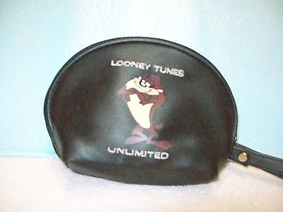 Collectible Black Looney Tunes Tazmanin Devil Coin Purse