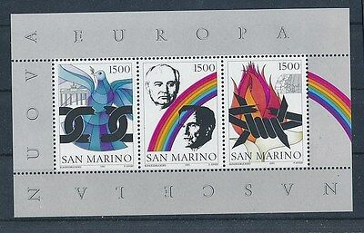 D80479 Dove Chains Famous People S/S MNH San Marino