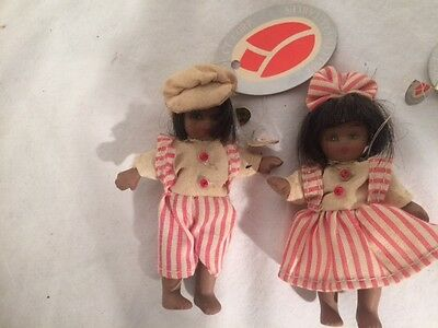 Pair Of Delton Products Black Americana Dolls