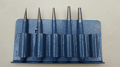 Gedore Germany 5 Piece Drift Punch Set With Holder