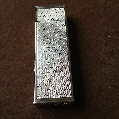 Briquet Ancien Essence JUNIOR SWISS Tallboy Petrol Lighter Fuel Feuerzeug