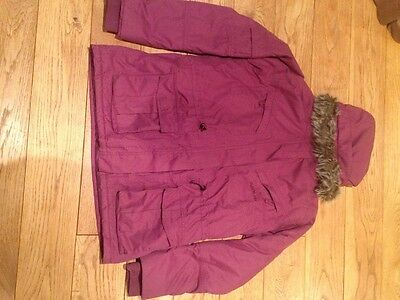 Dare2b purple ski jacket coat