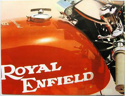 ROYAL ENFIELD Continental GT Original Motorcycles Sales Brochure 1969 JC/5M/2/69