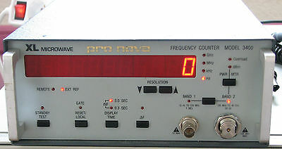 XL Microwave 3400 40 GHz Frequency Counter