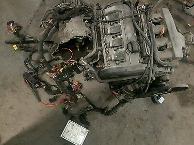 audi a4 engine 1.8t complete
