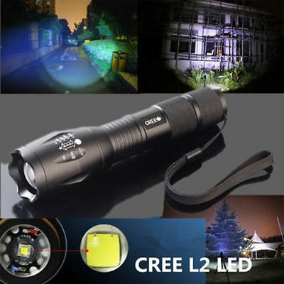 3500LM 5 Modes CREE XM-L T6 LED Torch Powerful 18650 Flashlight Lamp Light GOOD