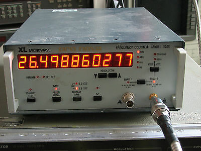 XL Microwave 3260 26.5 GHz Frequency Counter