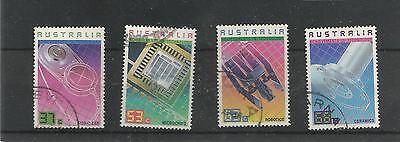Australia Achievments In Technology Used Set Of Four Sg 1082-5 Ref 894