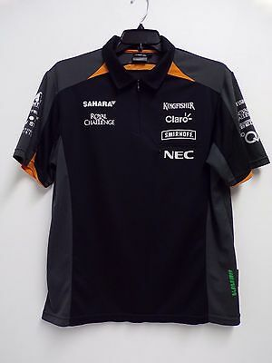 Sahara Force India F1 Team Issue 1/4 Zipped Top Mens Xs