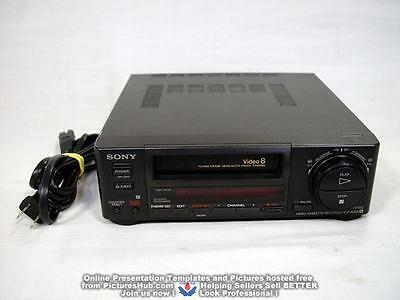 SONY EV-A50 Video8 8mm VCR Editing Player - 90 Days Wrty