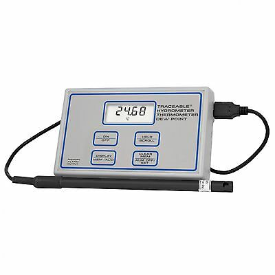 Fisher Scientific 11-661-16 Traceable Hygrometer Thermometer Dew Point