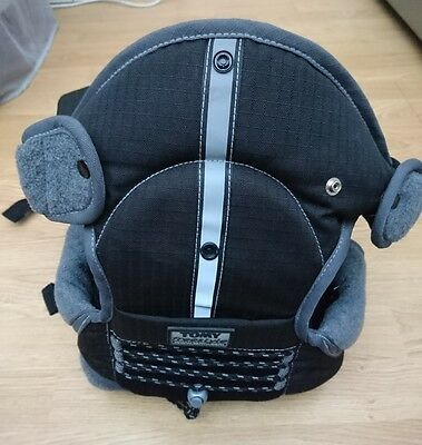 TOMY Freestyle Fleece Lined Black Baby Carrier