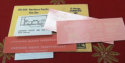 Champ Northern Pacific Ore Car O Scale Decals