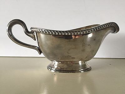 Gravy Boat Poole Silver Company EPNS 1810 Silverplate Sauce Boat