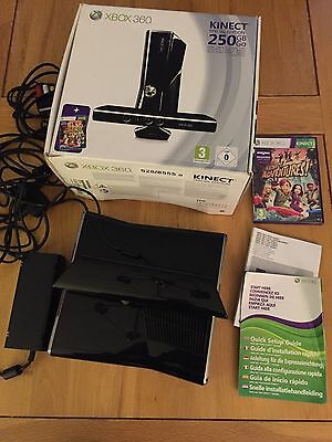 X Box 360 Kinect Special Edition 250GB Black