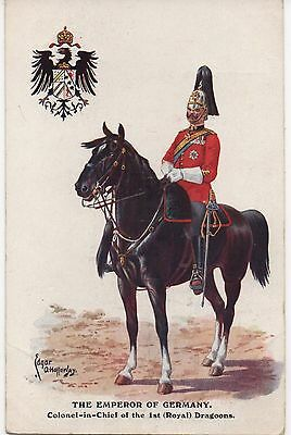 Postcard Milton Military series 585 The Emporer of Germany
