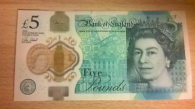 Rare AA11 Serial Number Five Pound Note