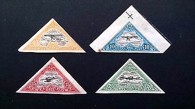 1924 Estonia Airmail stamps - nice condition
