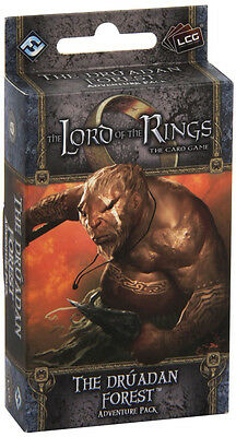 The Lord of the Rings Lcg: The Druadan Forest Adventure Pack (New)