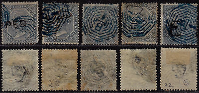 India 1865 - SG # 72 - Used stamps