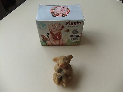 Piggin By David Corbridge - Piggin Relax - Pig Ornament In Original Box